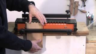 Dovetail Jig Setup - A Woodworkweb.com Woodworking Video