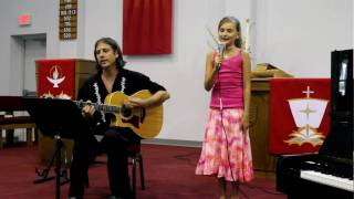 """Lexi sings """"We Live"""" by SuperChick"""