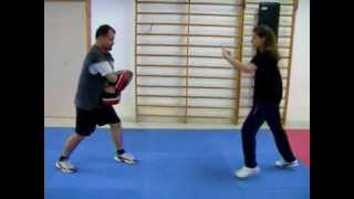Muay Thai Defense [with Emily G.] my Student in Bivona (AG)