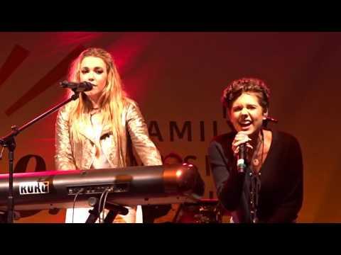 Rachel Platten & Calysta Bevier - Fight Song Live We Are LA Family Music Festival