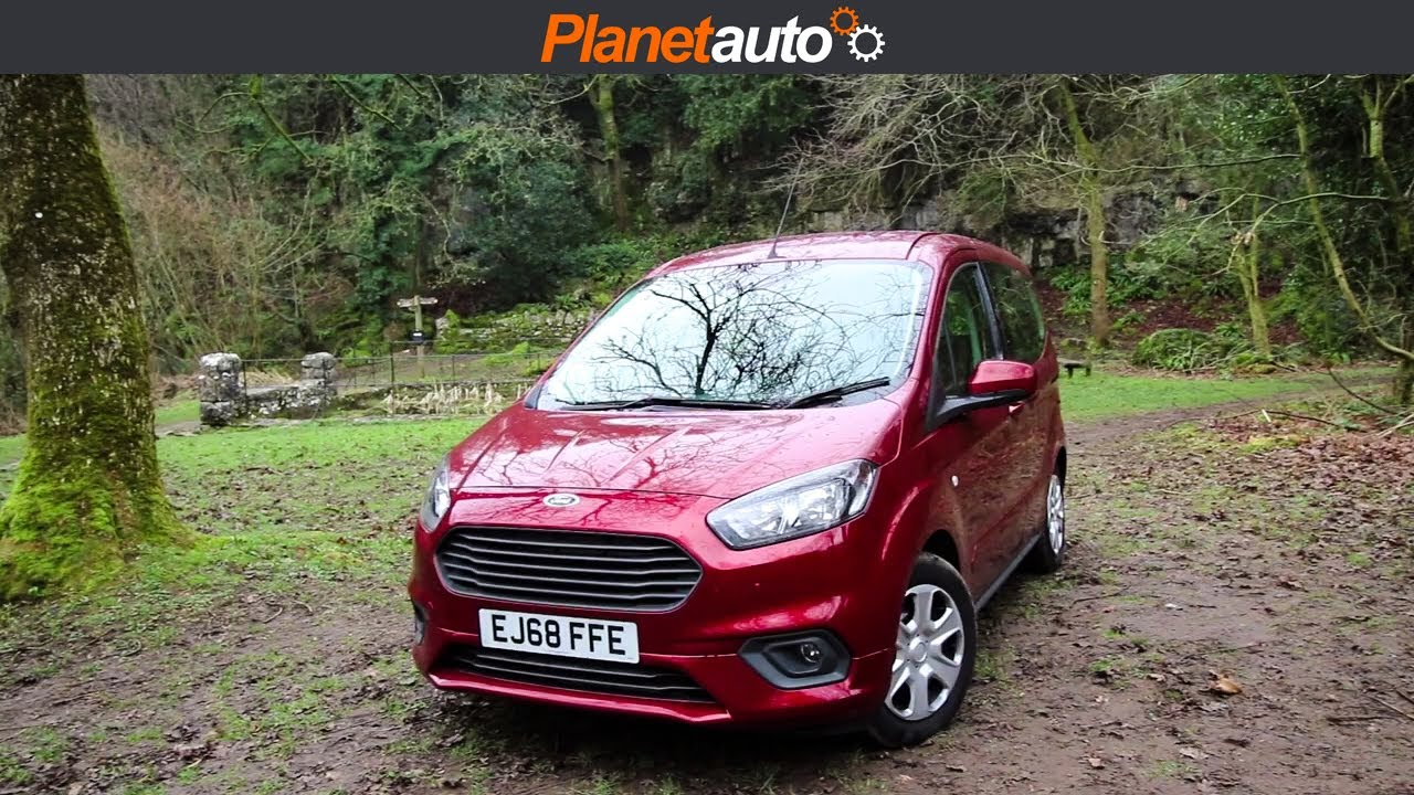 Ford Tourneo Courier 2019 Ecoboost Review Road Test Youtube