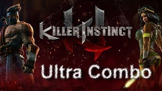 Killer Instinct UltraCombo Jago 70 Hits!  Xbox One X