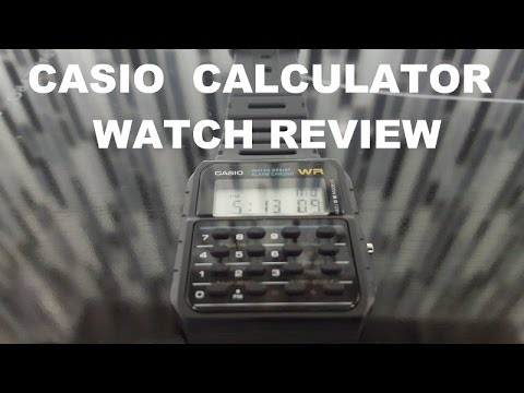 Casio Calculator Watch Review and New Watch Purchase ...
