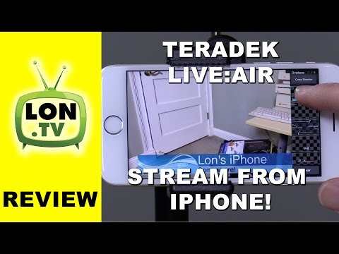 Teradek Live:Air Solo For IPhone Review - Stream Live To YouTube , Twitch,  And More For Free