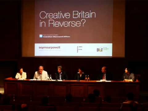 Creative Britain in Reverse? London, 12 July 2011 - hear the discussion