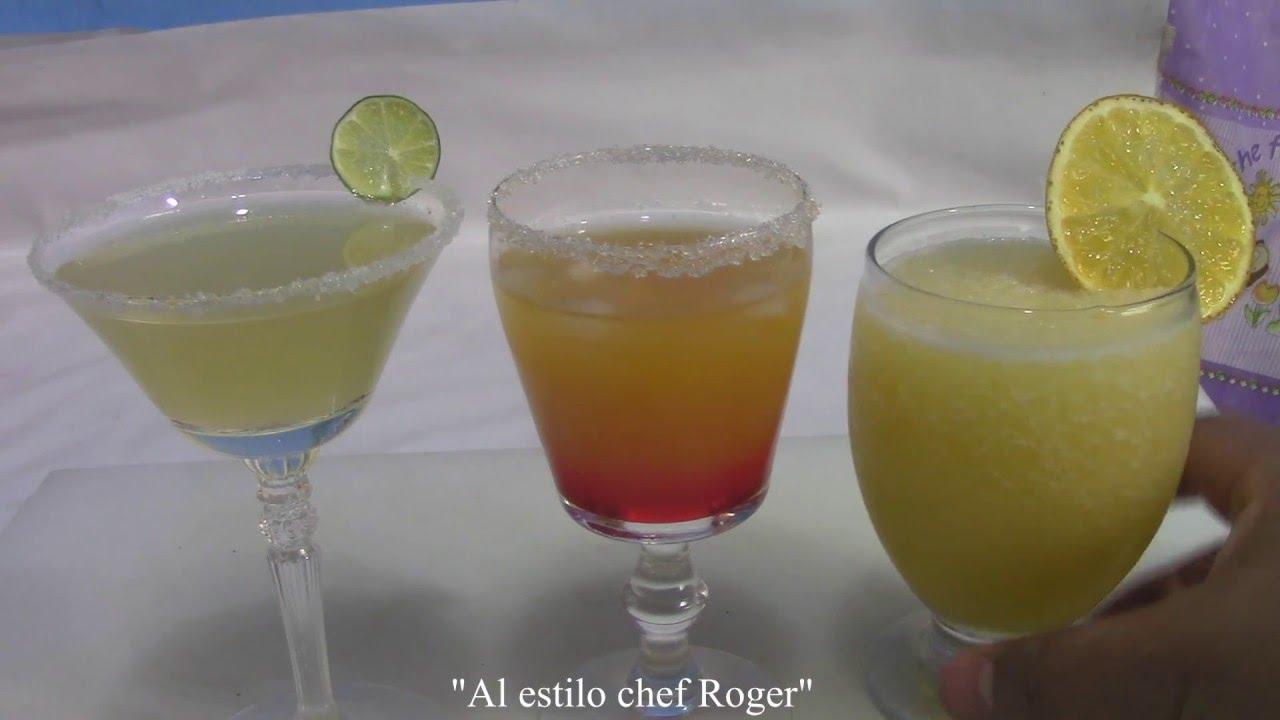 Margarita receta 226 las mejores margaritas que for Preparacion de margaritas