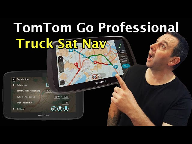 TOMTOM GO PROFESSIONAL Truck Sat Nav ULTIMATE GPS for Drivers