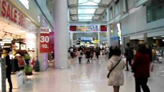 Inside Incheon International Airport, Seoul