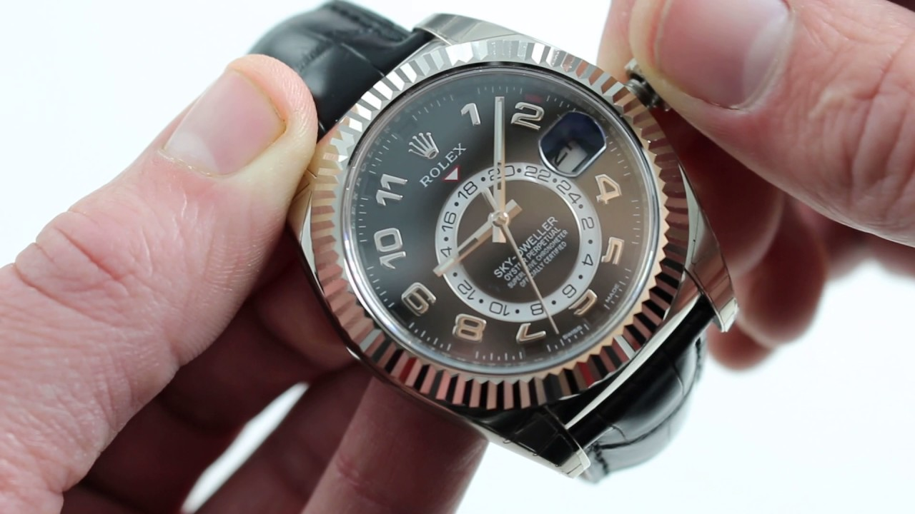 Rolex Sky-Dweller 326139 Watch Review - YouTube