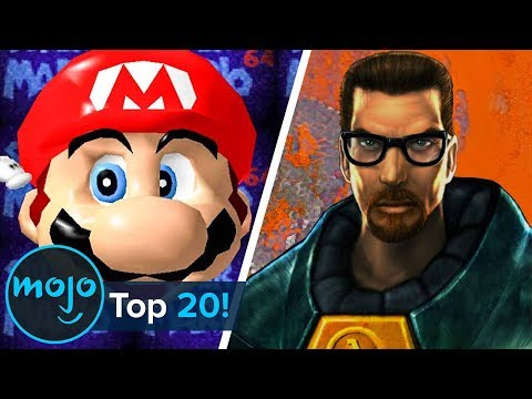 Top 20 Most Influential  Games of All Time