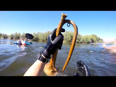 I Found a Working Bugle Underwater in the River! (And Other Surprising Finds!)