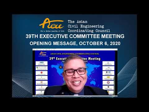 ACECC 39th EXECUTIVE COMMITTEE MEETING RECAP VIDEO