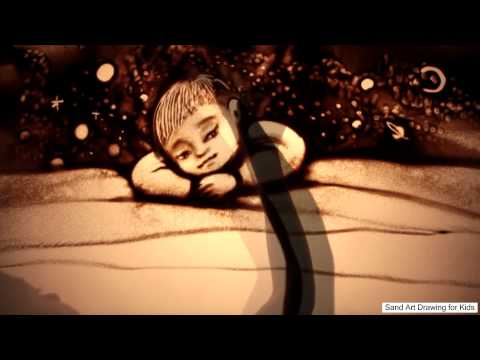 Amazing sand art! Peace for kids | Sand Art for Kids