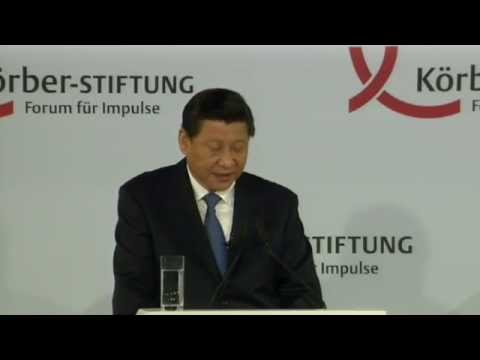 China's President Xi Jinping to give speech in Berlin (Chinese)