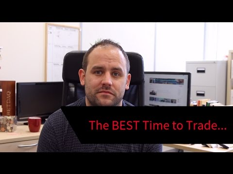 When's the BEST Time to Trade? - YouTube