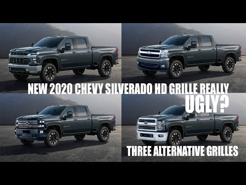 Ugly? New 2020 Chevy Silverado HD Grille Design Discussion With Alternatives