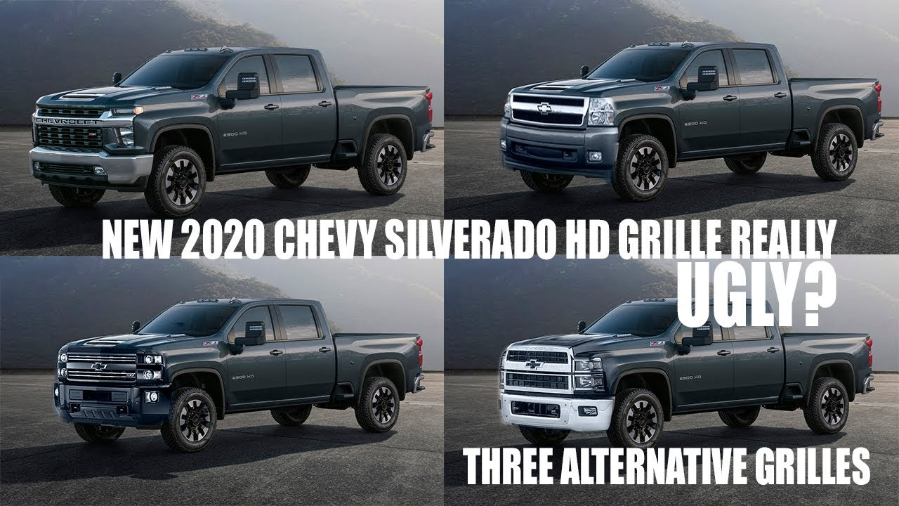 Ugly New 2020 Chevy Silverado Hd Grille Design Discussion With