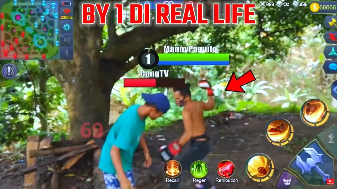 BY 1 DI REAL LIFE MOBILE LEGEND YANG VIRAL !