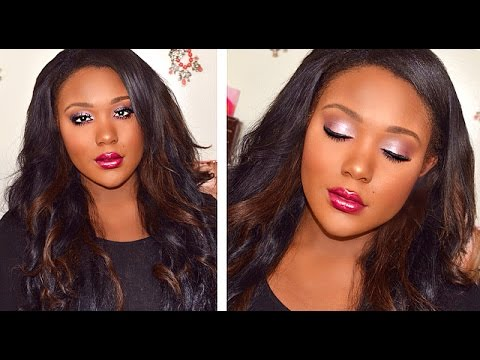 Drugstore Makeup Tutorial I Black Women Foundation, Highlight ...