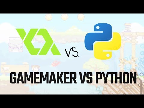 """Use """"GameMaker"""" Or Python To Build Games?"""
