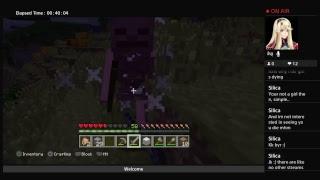 Minecraft watching my best friend survive