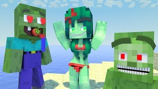 Love Story | The Minecraft Life of Zomma & ZomBo #11 | ZomBo Minecraft Animation