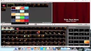 iMac Tutorials: How to add subtitles to iMovie 11