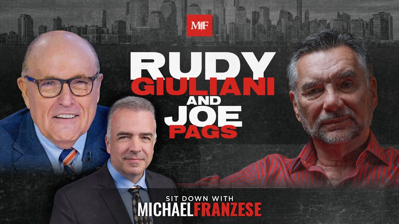 """Download Mayor and The Mafia   Rudy Giuliani Sit Down with Michael Franzese and Joe """"Pags"""" Pagliarulo"""