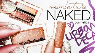 Realistic Miniature NAKED Eyes Palette 3 Tutorial! | DollHouse DIY ♥