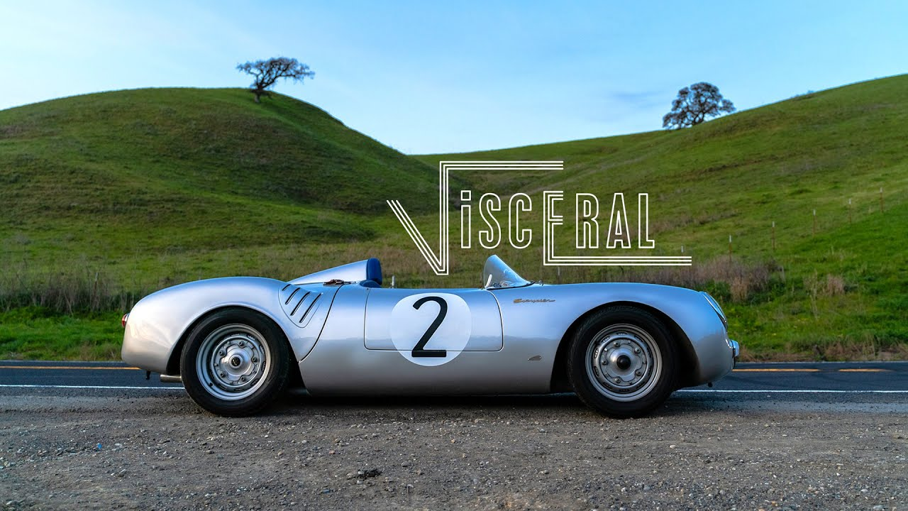 Vintage Motorcars Porsche 550 Spyder Replica: Visceral