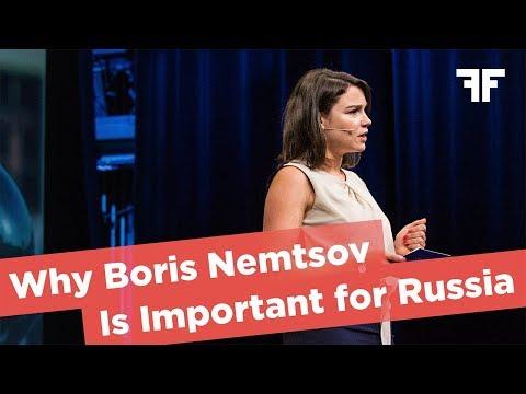 ZHANNA NEMTSOVA | WHY BORIS NEMTSOV IS IMPORTANT FOR RUSSIA | 2017