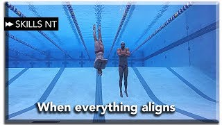 The perfect practice. Swimming motivation