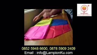 0852 5948 6600 (TSEL), Cara Membuat Balon Udara dari Kertas, LAMPION TERBANG, SKY Latern