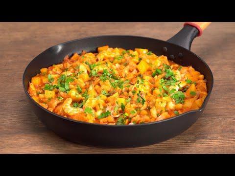 Испанское рыбное рагу в одной сковороде. Рецепт от Всегда Вкусно!