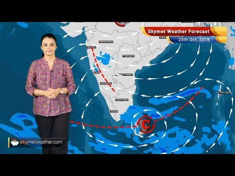Weather Forecast for Oct 25: Rain in Kerala, Tamil Nadu, Maharashtra; Northwest plains remain dry