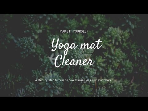how-to-make-yoga-mat-cleaner