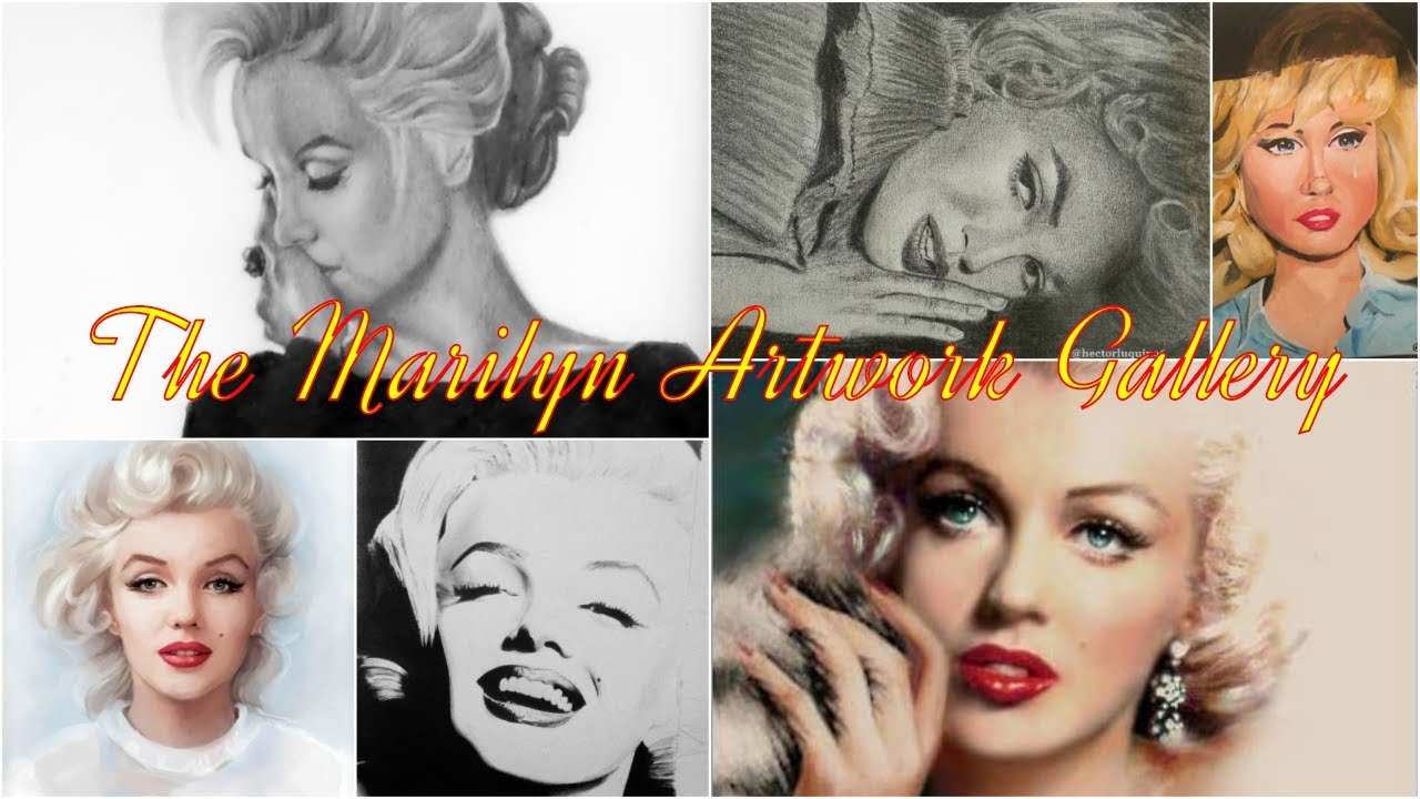 The Marilyn Artwork Gallery - Marilyn Artwork Made by Marilyn Monroe Fans🎨