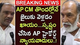 High Court Lawyers Comments On CM Jagan | Lawyers Predicts AP Cm Will Goes To Jail In Very Soon