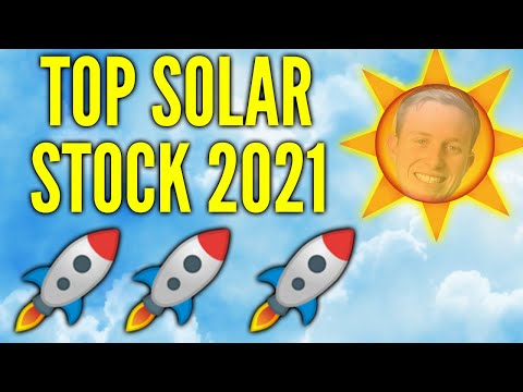 Solar Stock With HUGE POTENTIAL - Renewable Energy Stocks 2021 - Solar Stocks To Buy