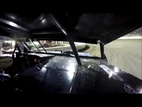 GoPro In-Car Camera with the #42 of Clint Young at I-55 Raceway Heat Race 9/17/16