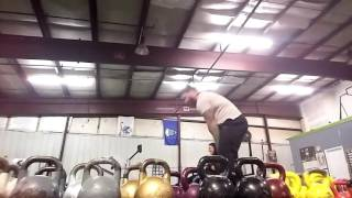Metabolic Conditioning for Kettlebell Sport : 40 sec on 20 off Row machine and One Arm Snatch