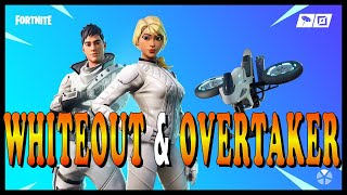"NEW STYLES FOR ""WHITEOUT and OVERTAKER"" SKINS in FORTNITE - NEW ""RUIN"" SKIN COMING SOON!"
