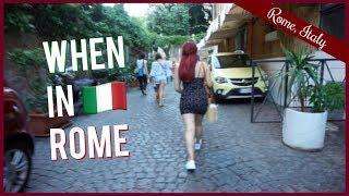 Gambar cover WE'RE IN ROME + AIRBNB TOUR!   RominaVlogs