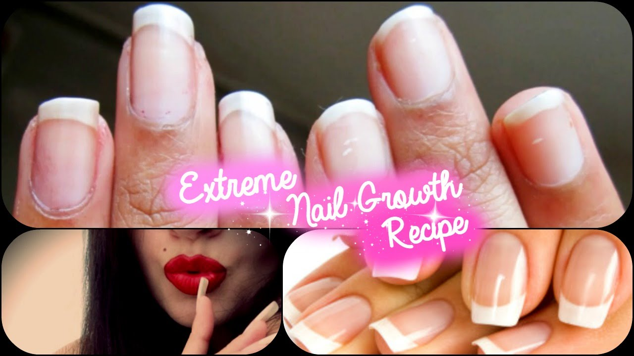 Extreme Nail Growth Recipe Grow Long Nails In A Week Styledbyaishyee You