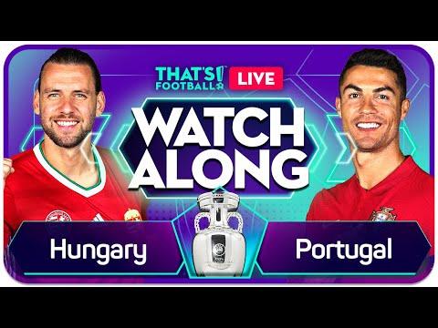 HUNGARY vs PORTUGAL EURO 2020 Watchalong Mark Goldbridge