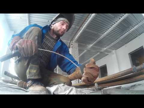 Как приварить квадратную заглушку на трубу