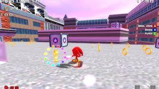 Развлекаемся в sonic world #2 (поиски red star колец, команда на команду, чао ворлд, и т.д.)
