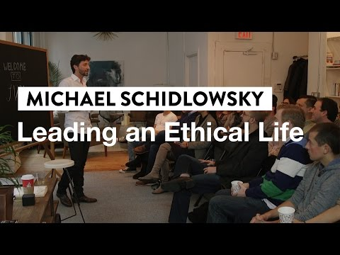 Hacking Philosophy to Live a Better Life | Michael Schidlowsky, NYU Lecturer