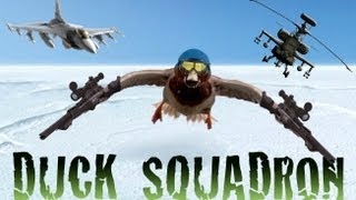 Duck Squadron - Epic Music and Sound Effects!!! Funny Video