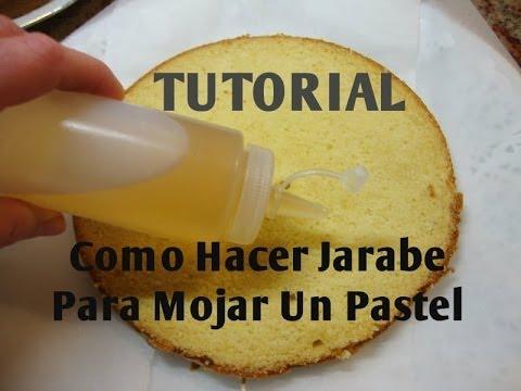 JARABE PARA MOJAR UN PASTEL  (3 ideas) Económico - Madelin's Cakes